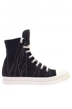 Hi-top sneakers with stitching od Rick Owens DRKSHDW