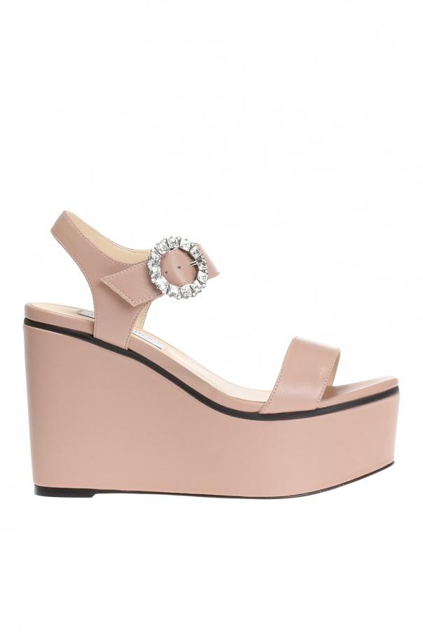b684cd7e6370 Nylah  wedge sandals Jimmy Choo - Vitkac shop online