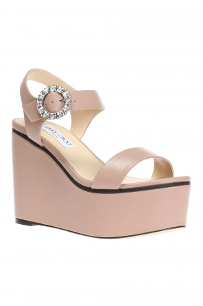 'nylah' wedge sandals od Jimmy Choo