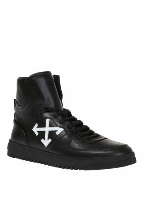 Leather high-top sneakers od Off White