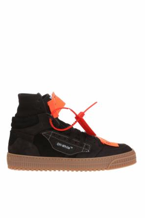 Patched high-top sneakers od Off White