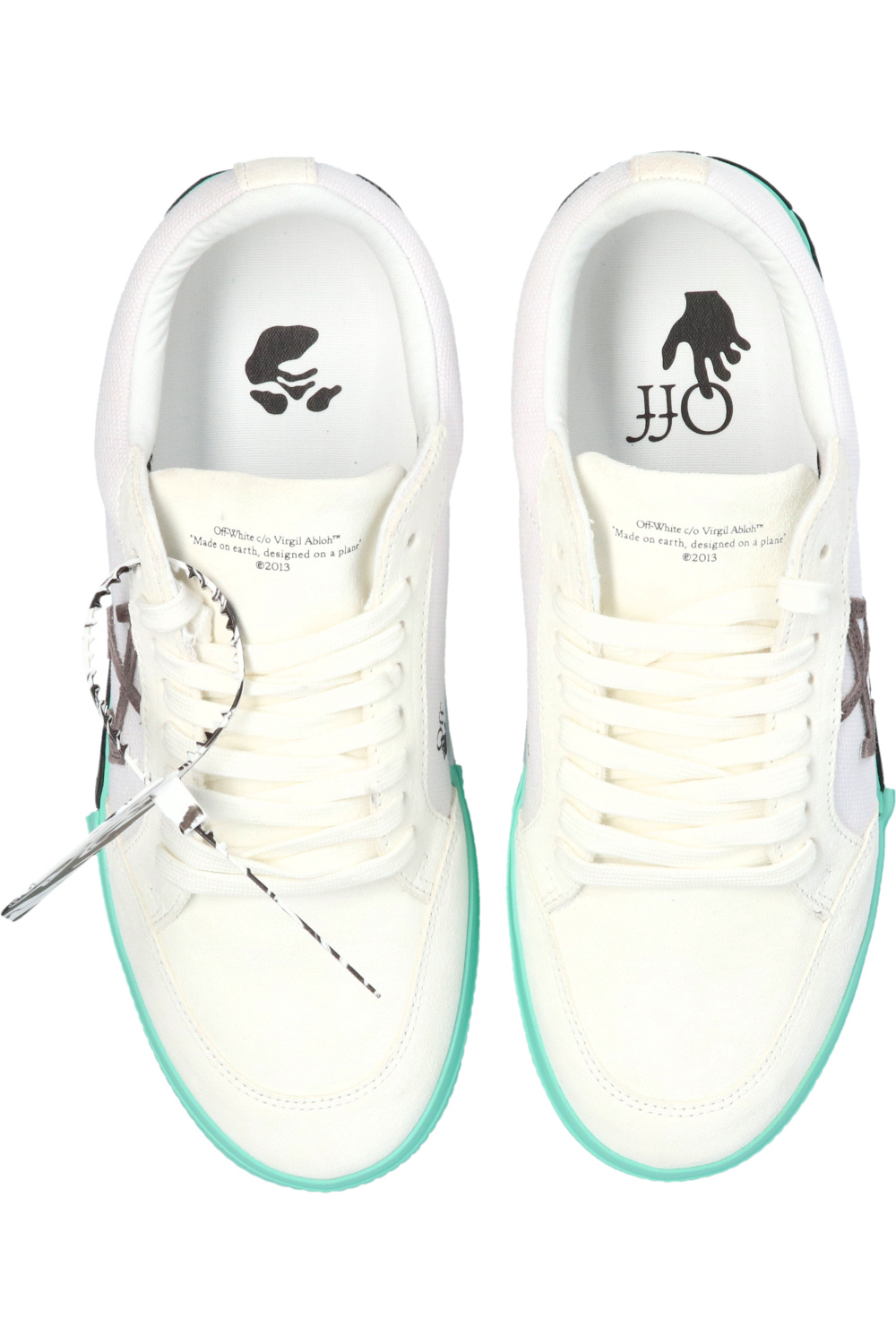 Off-White 'Low Vulcanized' sneakers