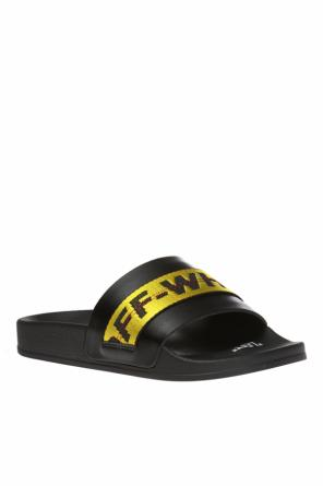 Leather slides od Off White