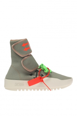 Ankle high sport shoes od Off White