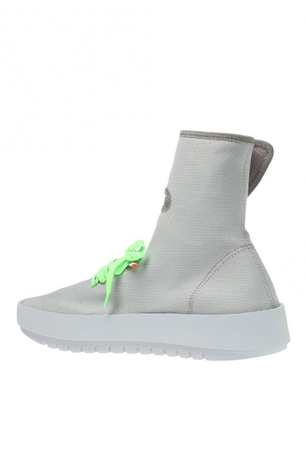 'moto wrap' sock sneakers od Off White