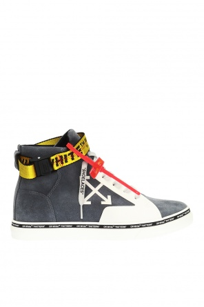 Appliquéd high-top sneakers od Off White