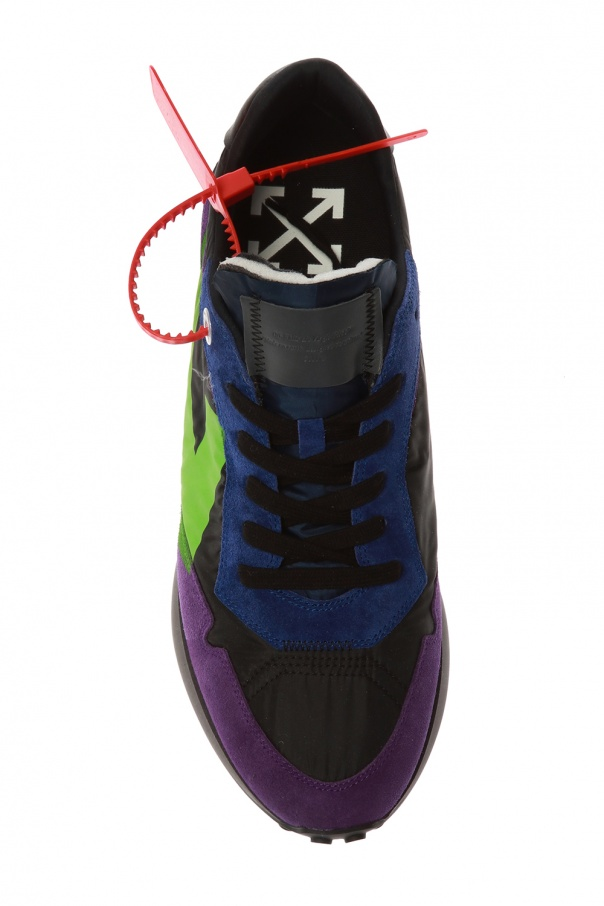 Sneakers with logo od Off-White
