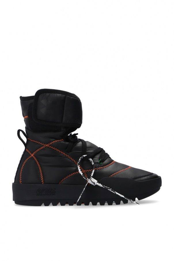 Off-White Lace-up shoes with logo