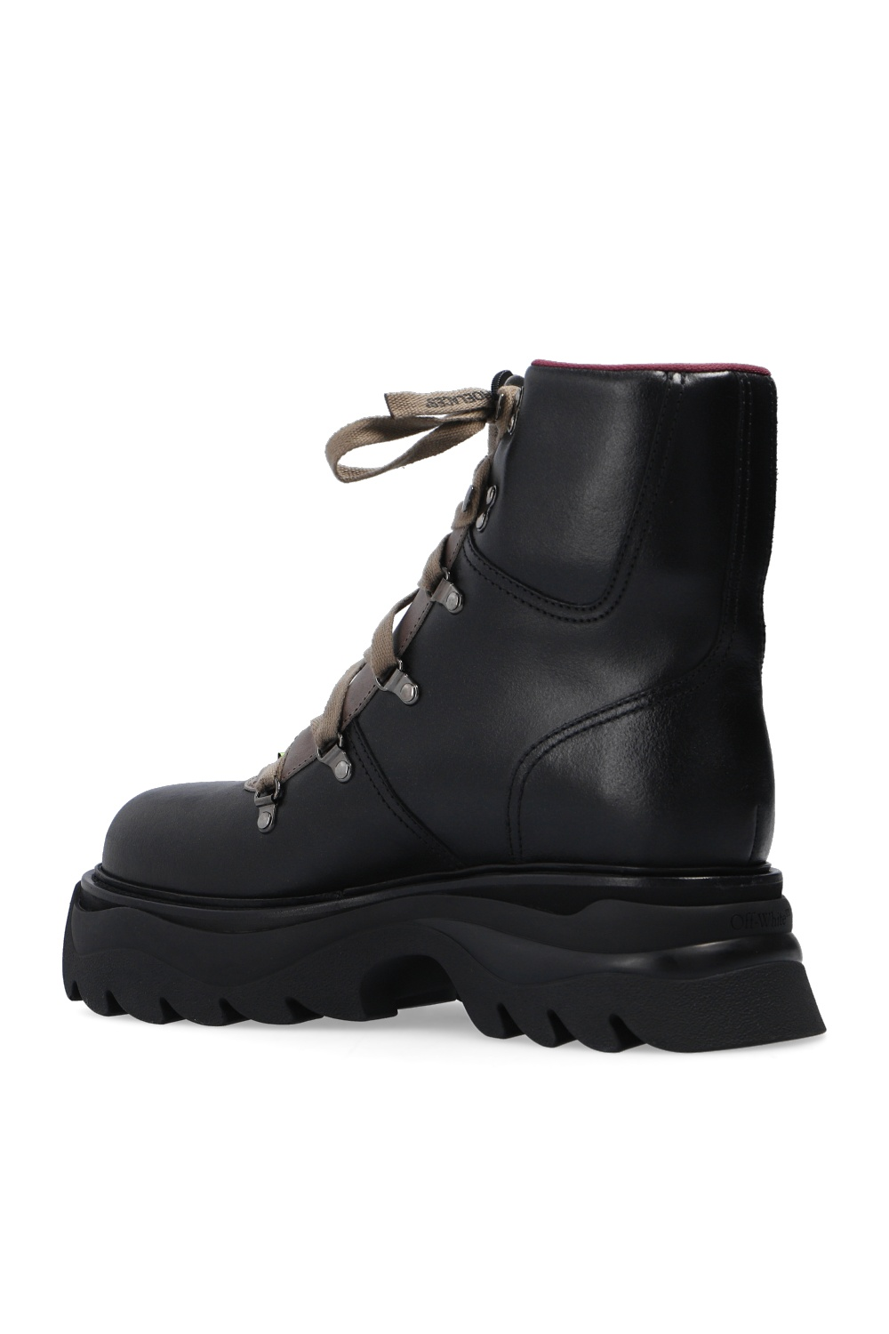 Off-White Patched boots