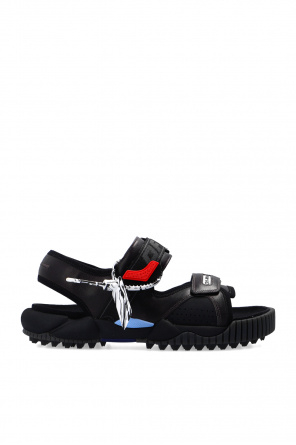 'odsy' leather sandals od Off-White