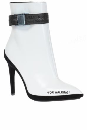 'for walking' ankle boots od Off White