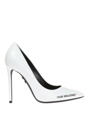 Buty na szpilce 'for walking' od Off White