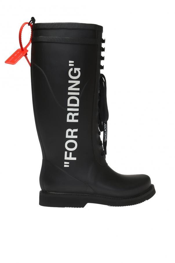 f7a268edc For Riding' wellington boots Off White - Vitkac shop online