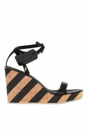 c69a1476700 ... Striped wedge sandals od Off White