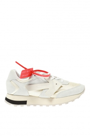 Sneakers with decorative appliques od Off White