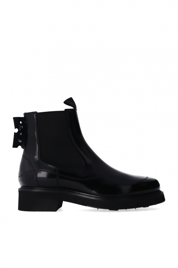 Off-White Heeled Chelsea boots