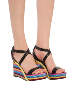 3978ecc896 Women's wedge sandals, designer tan wedges - vitkac shop online