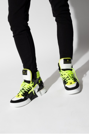 High-waisted sneakers od Philipp Plein