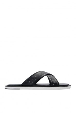 'palmo' leather slides od Jimmy Choo