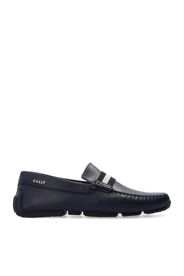 Bally 'Pearce' leather moccasins