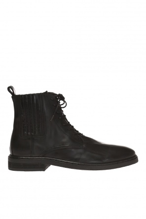 'perch' lace-up ankle boots od AllSaints