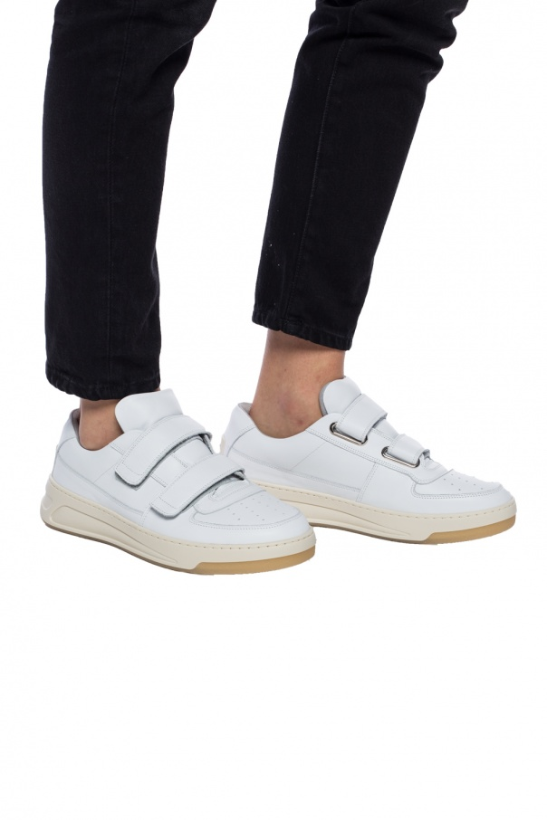 Leather sneakers od Acne
