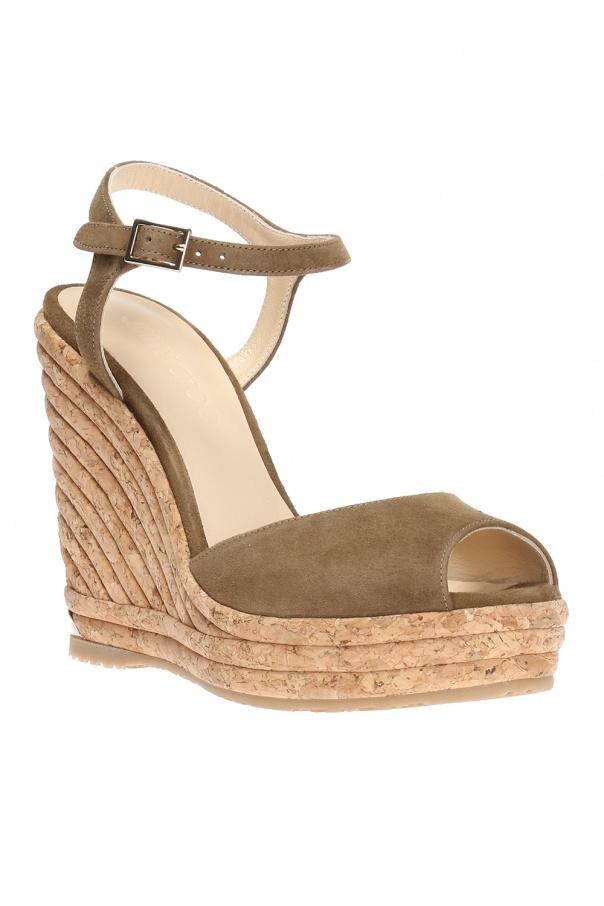 0f247f7b079b Perla  wedge sandals Jimmy Choo - Vitkac shop online