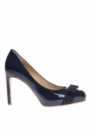 Leather 'pimpa' pumps od Salvatore Ferragamo