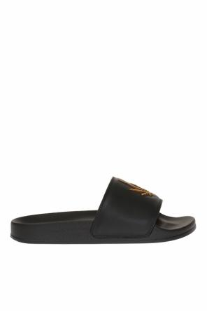 Appliqued sliders od Palm Angels