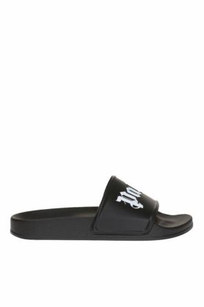 Logo-embossed sliders od Palm Angels