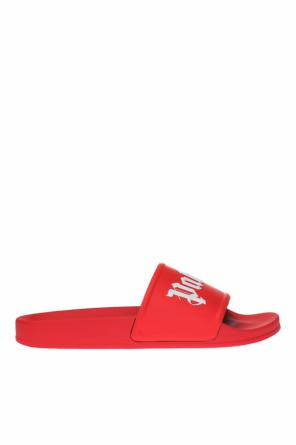 Branded slides od Palm Angels