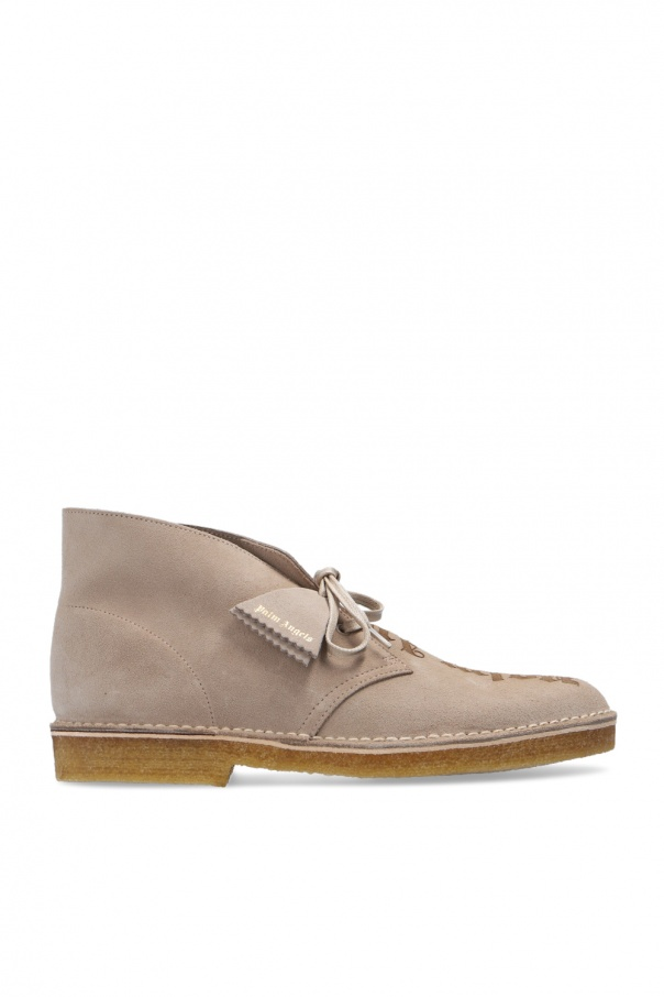 Palm Angels Suede shoes with logo