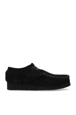 Leather shoes with tassels od Palm Angels