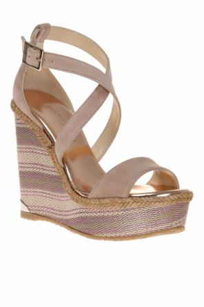 'portia' wedge sandals od Jimmy Choo