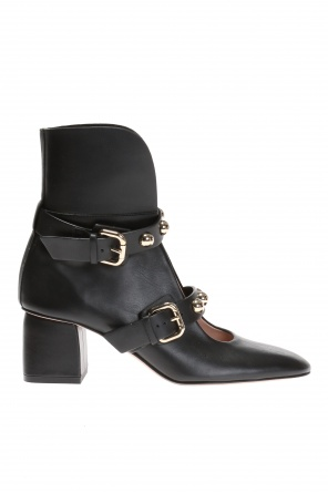 Ankle boots with studs od Valentino Red