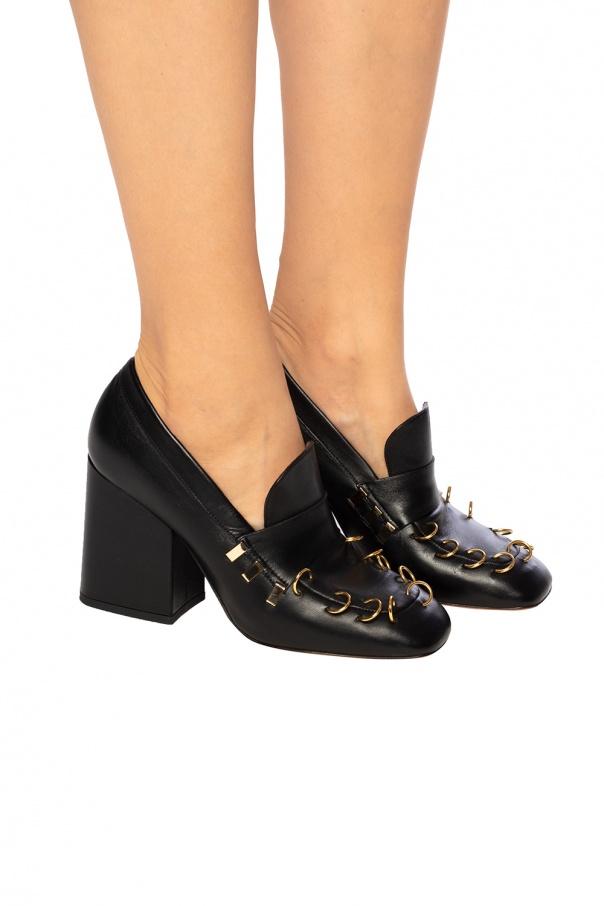 金属配件轻软舞鞋 od Marni