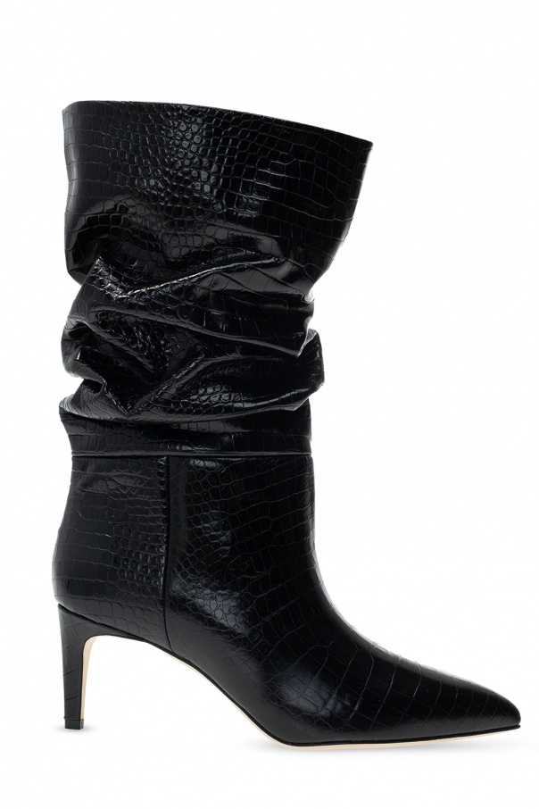 Paris Texas Ankle boots with gathers