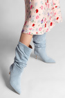 Paris Texas 'Slouchy' heeled ankle boots