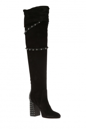 Heeled over-the-knee boots od Valentino Red