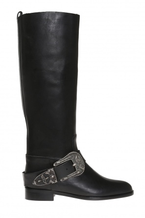 Boots with decorative buckle od Valentino Red