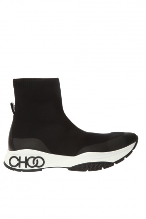 'raine sock' high-top sneakers od Jimmy Choo
