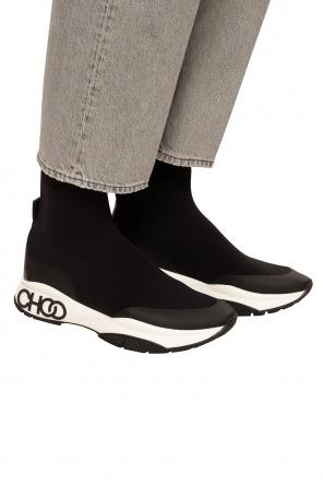 'raine sock' high-top sneakers od Jimmy Choo