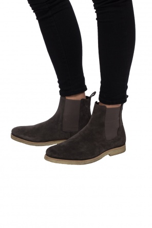 'reiner' suede chelsea boots od AllSaints