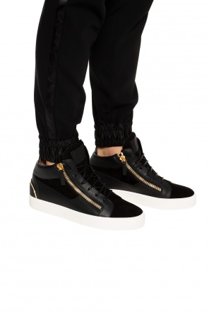 'may london' branded high-top sneakers od Giuseppe Zanotti