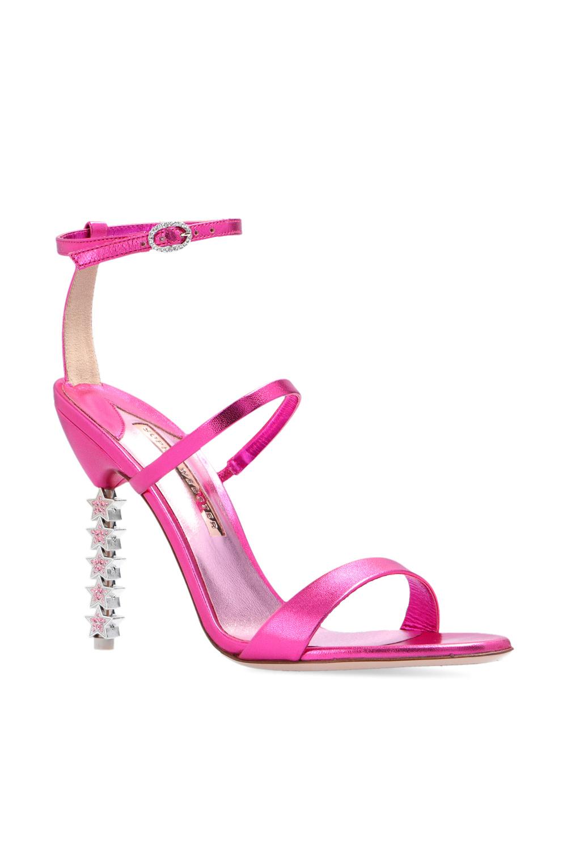 Sophia Webster 'Rosalind' sandals with decorative heel