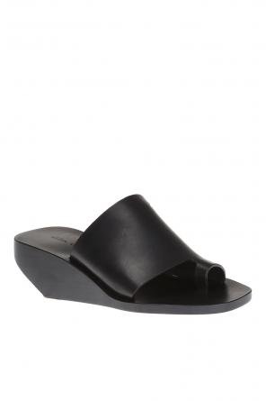'octavia' wedge sandals od Rick Owens