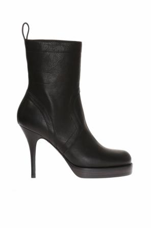 Stiletto-heeled ankle boots od Rick Owens