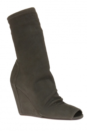Wedge ankle boots with sock od Rick Owens