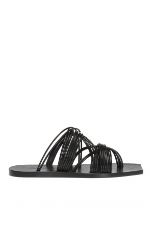 Leather flip-flops od Rick Owens