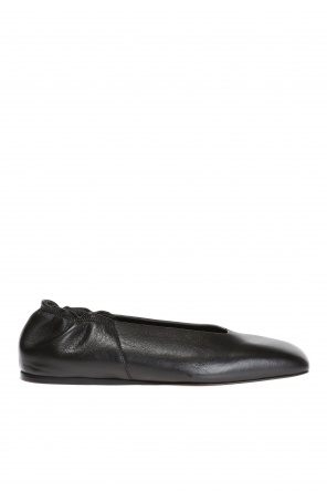 Leather ballet flats od Rick Owens